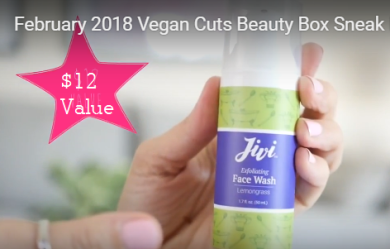 February 2018 Vegan Cuts Beauty Box Sneak Peak / Spoilers