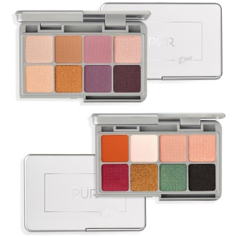 PUR on the go eyeshadow palettes 2018