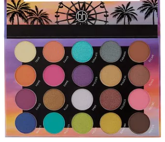 Weekend Festival 20 Color Shadow Palette by BH Cosmetics #22