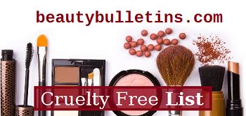 Cruelty free list