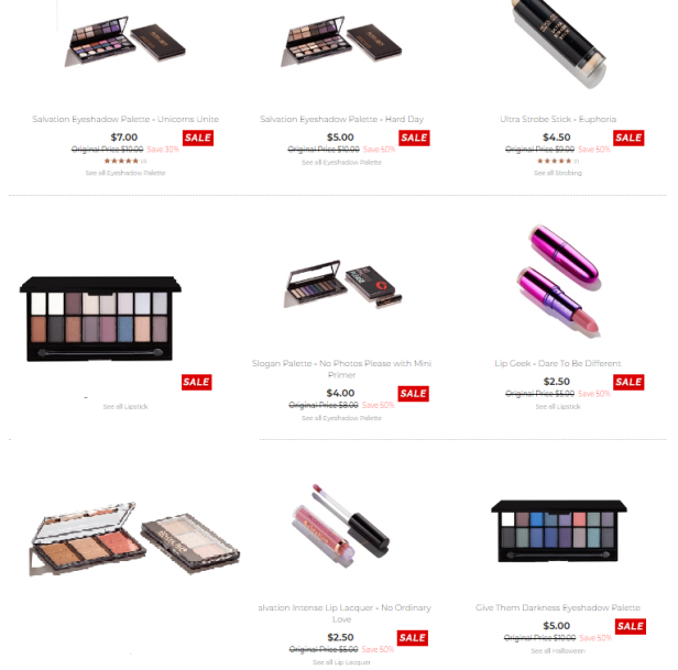 Revolution Beauty USA June sale