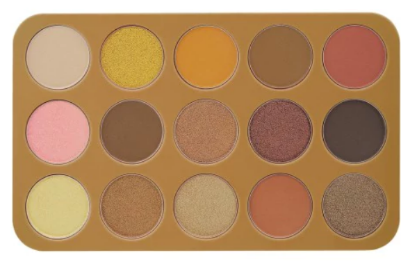 Glam Reflection 15 Color Shadow Palette: Gilded