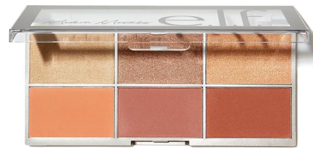 elf metal blush highlighter palette