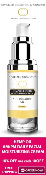 Moisturizing Skin Cream with Hemp & Argireline peptide