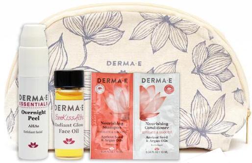 DermaE fall bag 2018