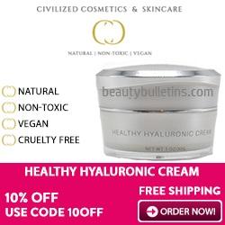 Civilized Cosmetics hyaluronic acid cream