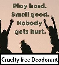 cruelty free deodorant