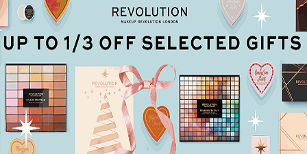 Save 30% on Gift Sets at Revolution Beauty