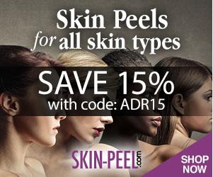 15% off skin peels & skin skin care