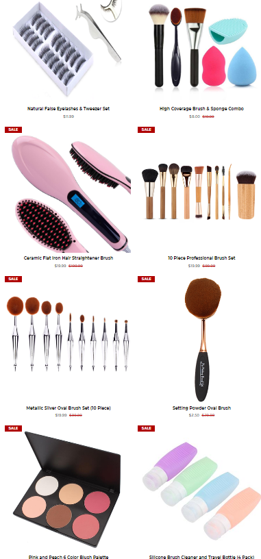 End of Year Clearance at My Makeup Brush end of year sale