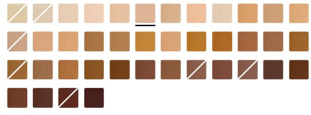 elf-40 shades Flawless Finish Foundation