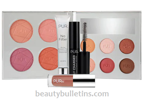 PUR Out of the Blue The Perfect Selfie Kit. 13 pieces for $28.00