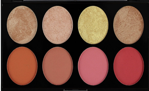 Revolution Blush Palette - Blush Goddess