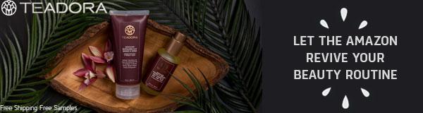 teadora skin care 15% off first order