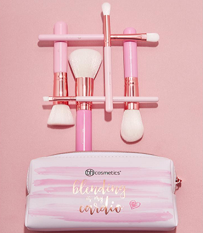 bhc-pink brush set