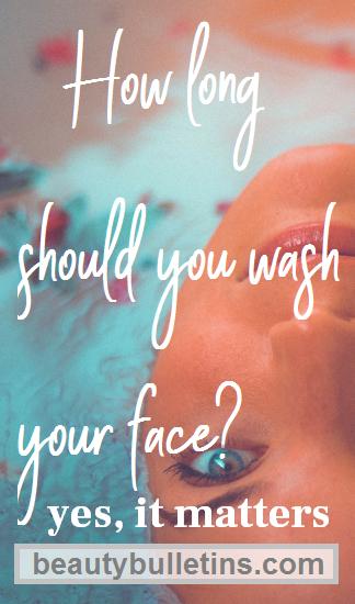 face wash pin