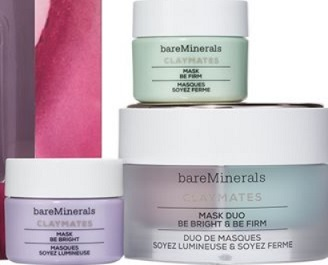 baremi-LOVE TO MASK BE BRIGHT & BE FIRM CLAYMATES MASK SET